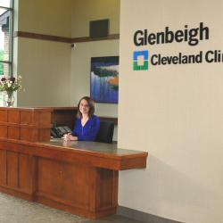 The main lobby at Glenbeigh is where patients are welcomed when arriving for treatment.